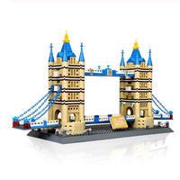LEGO レゴ クリエイター 10214 互換 タワーブリッジ 1033ピース