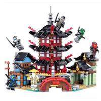 レゴ互換 ニンジャゴー お寺セット ファントム忍者シリーズ 737ピース LEGO互換品