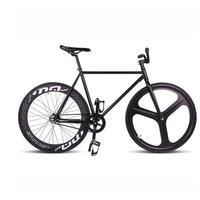 マグネシウム合金ホイール3スポークピスト自転車、固定ギアバイク700c * 23 70ミリメートルリム52センチフレームdiy