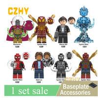 レゴ互換 アイアンマン、スパイダーマンなどミニフィグ 120体セット LEGO互換