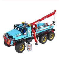 レゴ互換品 テクニック 6x6 全地形マグナムレッカー車 42070相当 レゴブロック 知育 ブロック