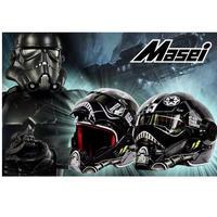 フルフェイス ストームトルーパー(黒)スターウォーズ star wars ヘルメット バイク S M L XL XXL