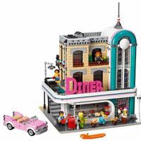 レゴ互換 LEGO ダウンタウンディナー 10260 Down Town Diner 2778ピース