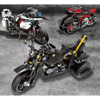 レゴ互換 テクニック バイク 3種類 三輪 レーシングバイク モーターサイクル LEGO互換品