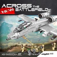 レゴ互換 ミリタリー A-10 サンダーボルト LEGO互換品 おもちゃ クリスマス プレゼント