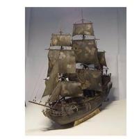 木製船 モデルキット 黒真珠 木製船模型 3Dレーザーカット DIY 1/96