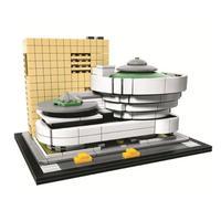 レゴ互換 ソロモン・R・グッゲンハイム美術館 21035 アーキテクチャー LEGO互換