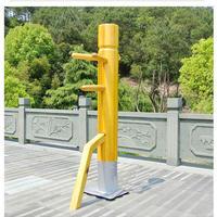 木人椿 詠春拳 武術 運動機器 武道 ジークンドー プロ仕様 ブルースリー 150~170cm選択可能