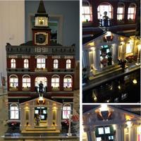 LEGO レゴ クリエイター 10224 互換 タウンホール LED ライトキット Town Hall