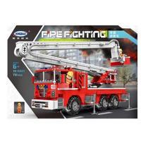 レゴ 消防車 空中作業車 互換品 レゴブロック LEGO互換