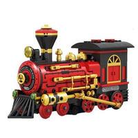 レゴ テクニック 互換品 蒸気機関車 モーターセット LEGO互換 列車 クラシック