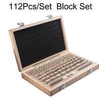ブロックゲージ 112ピース/セット 0グレード(0.5-100ミリメートル)