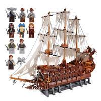 レゴ 互換品 フライングダッチマン号 海賊幽霊船 MOC パイレーツオブカリビアン LEGO互換