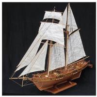 1/96 模型 木造船 模型キット 木製 船 組み立て 帆船 戦艦 ボート プラモデル レーザー加工 クラシック アンティーク