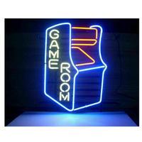 ネオンサイン LED ゲームルーム GAMEROOM 43×35㎝ 照明器具