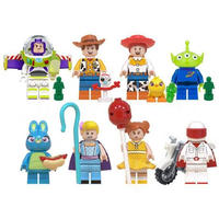 レゴ互換 トイストーリー ミニフィグ 8体セット LEGO互換品