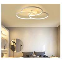 天井照明 LED リング型 シーリングライト 調光可能 リモコン操作 リビングルーム 寝室 照明器具