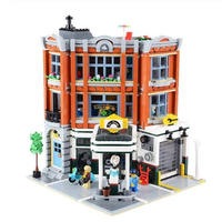 レゴ互換 10264 クリエイター・エキスパート コーナー・ガレージ(自動車整備工場) Corner Garage LEGO互換