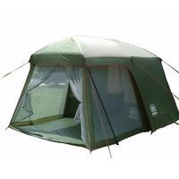 キャンプテント 2ルーム オールシーズン 防水 (4人+) リビングとベッドルーム 高さ200cm アウトドア 高品質