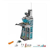 レゴ 互換品 スーパー・ヒーローズ アベンジャーズ タワーの攻撃(3階建てver) ヒーロー出動!