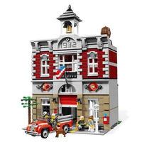 LEGO互換 ファイヤーブリゲード 10197 クリエイター レゴ互換