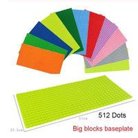 LEGO レゴ 互換 デュプロ アンパンマンブロックラボ 対応 基礎板 プレート 大サイズ 51cm x 25.5cm 全10色