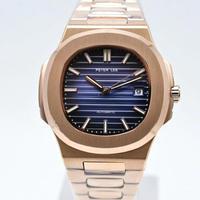 【12色】PETER LEE メンズ腕時計 トップブランド高級 多カラー文字盤 自動巻 紳士用 新品 ノーチラス対抗モデル