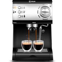 イタリア製 20バー高圧蒸気半自動エスプレッソコーヒーマシン 家庭用 業務用 ミルクバブルコーヒーメーカー ファンシーコーヒー