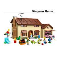 レゴ互換 71006 シンプソンズハウス 2575ピース LEGO互換品 ブロック おもちゃ