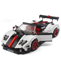 レゴ互換 パガーニ レーシングカー スポーツカー ブロック 13105 車 ブロック LEGO互換品 おもちゃ プレゼント