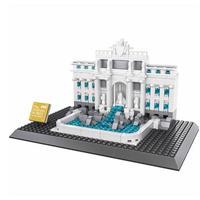 レゴ互換 トレヴィの泉 アーキテクチャー 21020 LEGO互換品