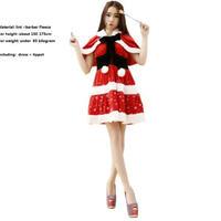 女性用 クリスマスコスプレ 衣装 7種類から選択 クリスマスプレゼント パーティー コスチューム 仮装