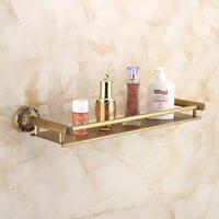 浴室 シャワー 棚 ステンレス鋼 50cm シャワー キャディー キッチン フローティング アンティーク バスルーム アクセサリー