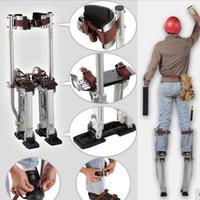 業務用 乾式壁竹馬 高さ調節可能 60~100cm シルバー テーピング ペイント 竹馬 アルミ