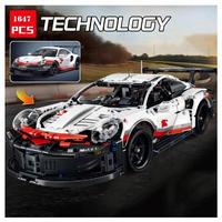 レゴ互換 SY社製 テクニック ポルシェ 911 RSR 42096 LEGO互換