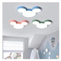 ミッキー LED シーリングライト 4色 調光可能 子供部屋 天井照明 シャンデリア 北欧