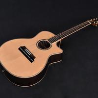 高級 木製 アコースティックギター 40インチ ソリッドウッド ミュージック 音楽