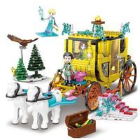 レゴ互換 プリンセス カボチャ 馬車 459ピース ブロック  LEGO互換品