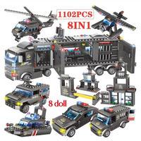 レゴ互換 SWAT 特殊部隊 2種類 1102~1122ピース LEGO互換品 おもちゃ プレゼント 教育玩具