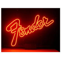 フェンダー Fender ネオンサイン ネオン管 看板 ライト 人気 おしゃれ インテリア ディスプレイ 輸入雑貨