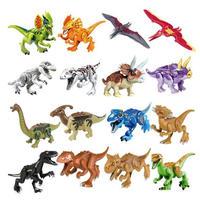 ジュラシックワールド 恐竜 ミニフィグ 大量28体 レゴ互換 LEGO ブロック ティラノサウルスレックス