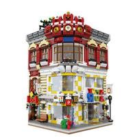 レゴ互換 おもちゃ屋&本屋 LEGO互換 おもちゃクリスマス プレゼント