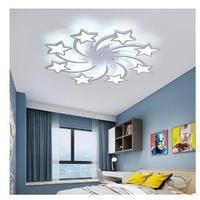 LED シャンデリア 星デザイン 8heads 天井照明 子供部屋 リビングルーム ベッドルーム