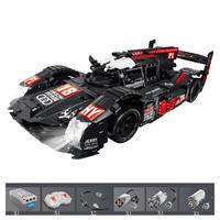 レゴ互換 テクニック アウディ R18 デザイン モーターセット ラジコン仕様 1908ピース スポーツカー レースカー LEGO互換品