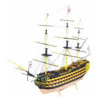 帆船 HMS ヴィクトリー 1765 模型キット 1:200 組立 diy 木製船 戦艦 プラモデル