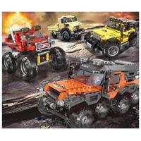 レゴ互換 オフロードアドベンチャー トラック 車 4種類 371~610ピース LEGO互換品 おもちゃ 誕生日 プレゼント