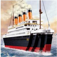 レゴ互換 タイタニック 豪華客船 巨大 全長65cm 1021ピース LEGO互換品 おもちゃ 誕生日プレゼント