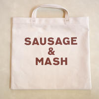 R&D.M.Co- SQARE TOTE BAG SAUSAGE