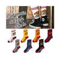 【California Grizzly Socks 】 カリフォルニア ソックス