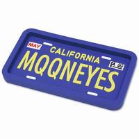 MOONEYES ラバートレイ(カリフォルニア ライセンス プレート)